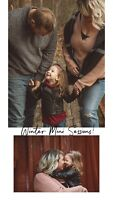 Winter mini lifestyle photography session!