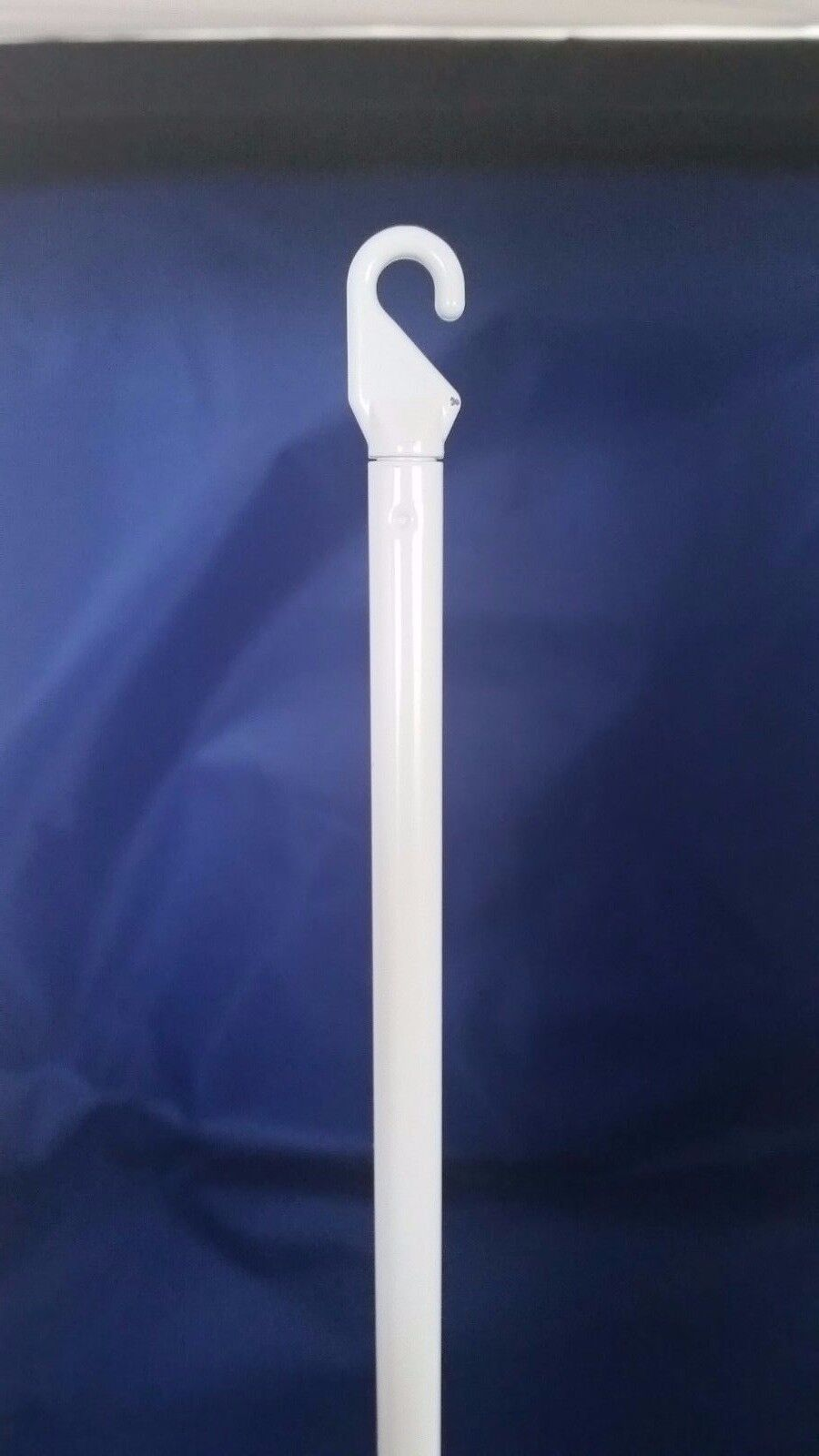 Vertical Wand Blind Part With Handle - White