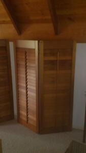 bi fold timber plantation shutters Grafton Clarence Valley Preview