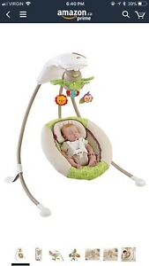 Fisher price forest friends swing