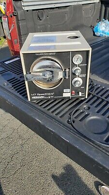 Used Midmarkritter M7 Speedclave Steam Sterilizer Autoclave Trays Instructions