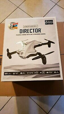 Codes Director Foldable Drone With Live Streaming Camera - New in Box