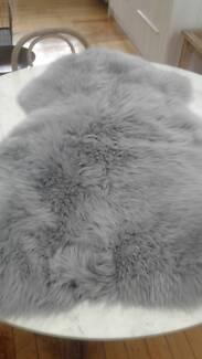 grey lamb skins