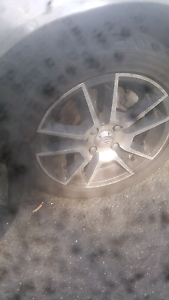"""5 new tyres on 15"""" mags Wollongong Wollongong Area Preview"""