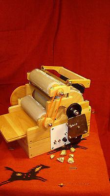 "как выглядит ""Standard Triple, Drum Carder "" electric,9x24 batt 90/120/120tpi фото"