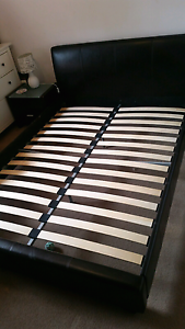 Queen bed plus optional side tables Golden Grove Tea Tree Gully Area Preview