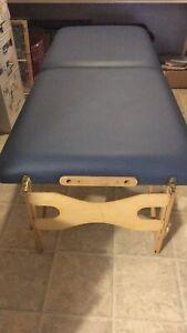 Portable treatment table