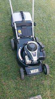 Victa classic cut and catch lawn mower.