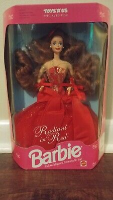 Barbie Radiant In Red Special Edition 1992 Mattel 1276 Toys R Us NRFB