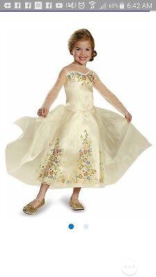 cinderella white wedding dress 3t 4t toddler
