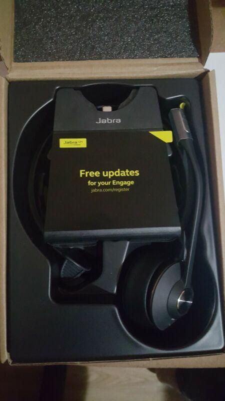 Jabra Engage 65 Over The Head Noise Canceling Wireless Headset Mono