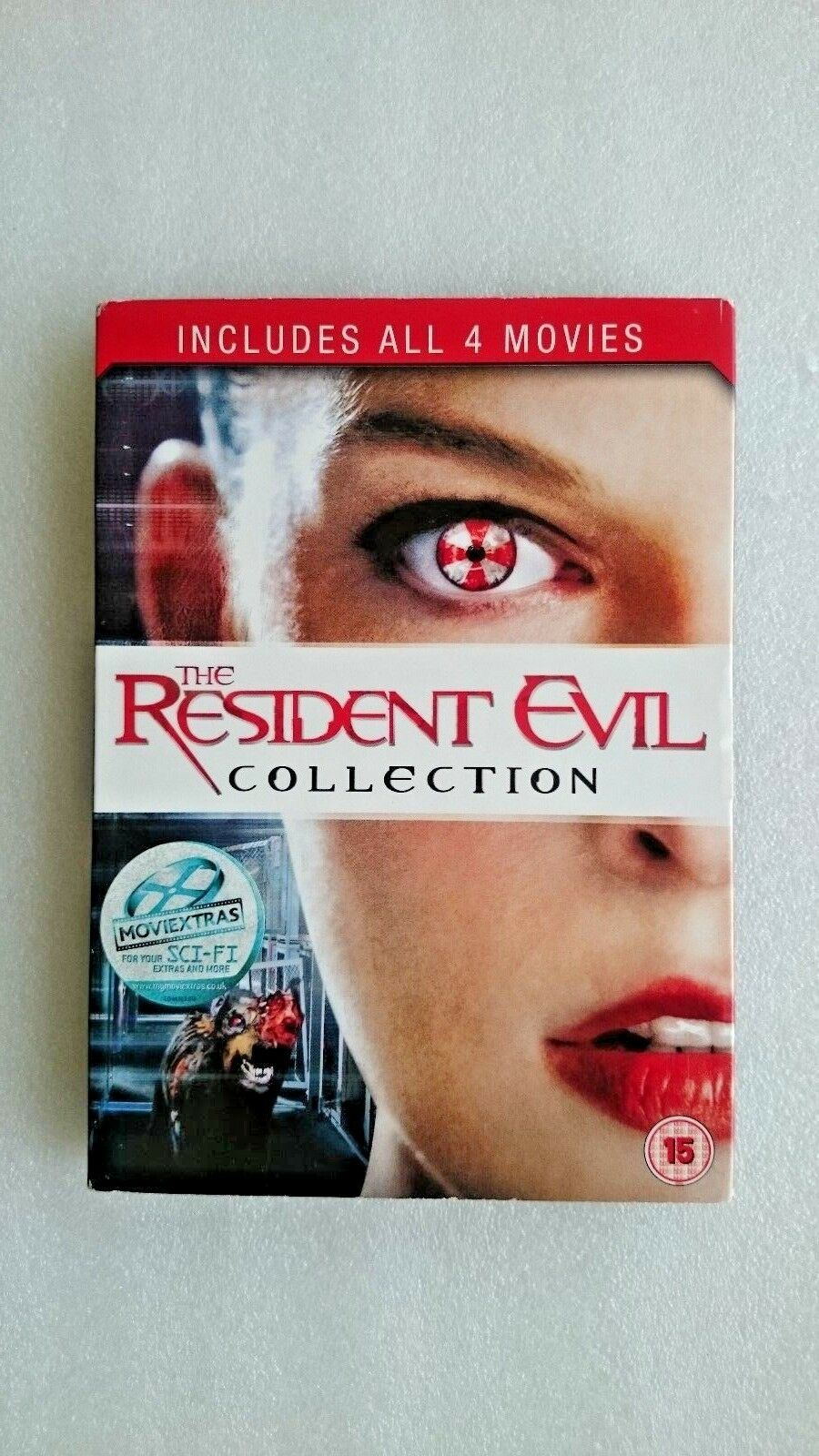 Resident Evil 1-4 (DVD, 2011, 4-Disc Set, Box Set)