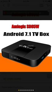 Android box 7.1 operating
