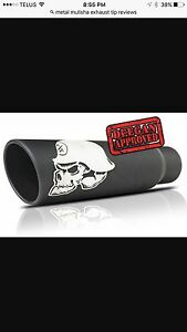Metal mulisha exhaust tip