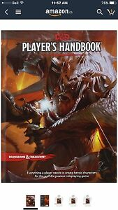 Dungeons & Dragons Player's Handbook 5th Edition