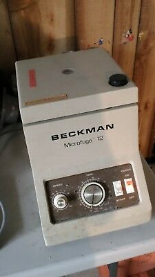 Beckman Microfuge 12 With Rotor