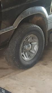 Mitsubishi 4x4 wheels