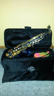 Saxophone - Alto blue