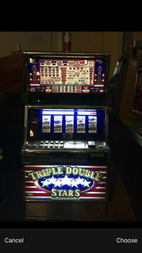 IGT TRIPLE DOUBLE STARS SLOT MACHINE
