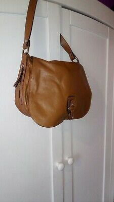 Innue Made In Italy 100% Genuine Leather Bag Was £149 Now  £30 Used  in perfect