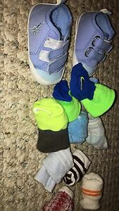 Socks and polo shoes boys Cambridge Kitchener Area image 1