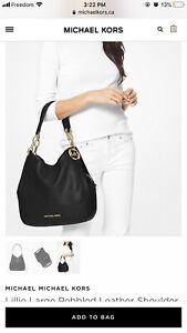 Gold and black Michael Kors