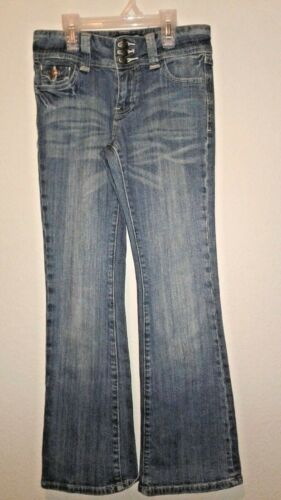 Seven 7 Girls Size 8 Medium Wash Boot Cut Jeans
