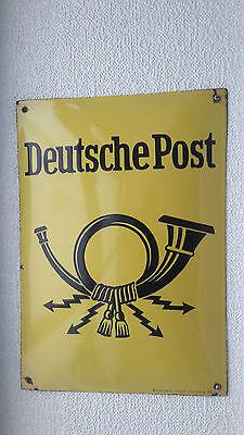 Emailschild alt DDR Deutsche Post