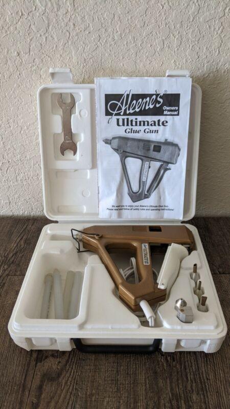 Aleene's Ultimate Corded Dual Temp Glue Gun with 5 Tips, 4 Glue Sticks & Case