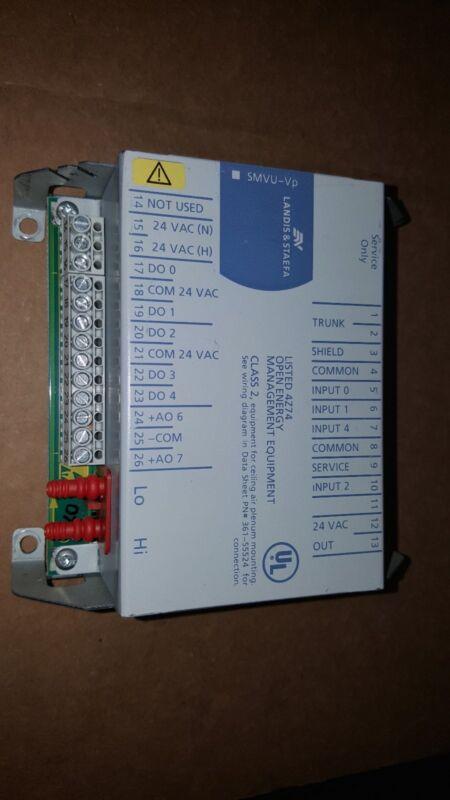 Siemens Landis & Staefa SMVU-VP Controller Module Used