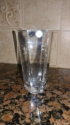 - Tiffany & CO Crystal Frank Lloyd Wright 6 Inch Vase 1988