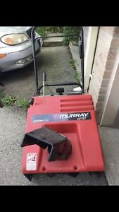 Murray snow blower, good working condition $60