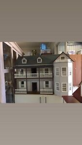 Brand New Dolls House With Assortment Of Furniture Prospect Prospect Area Preview