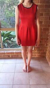 Red Pandora Dress - size small (8) Redcliffe Belmont Area Preview