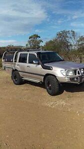 2003 Landcruiser Dual Cab modified Utility V8 Sandford Clarence Area Preview
