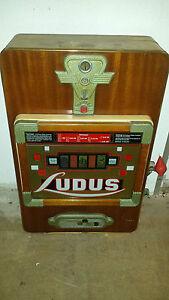 Wulff Lindl Ludus Spielautomat, einarmiger Bandit 60er Jahre