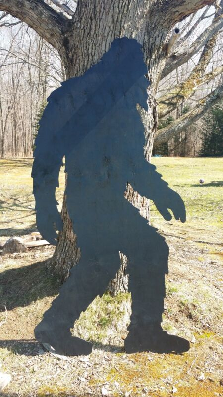 NEW Handmade Lawn Art Yard Shadow Silhouette - Bigfoot Sasquatch Yeti 93""