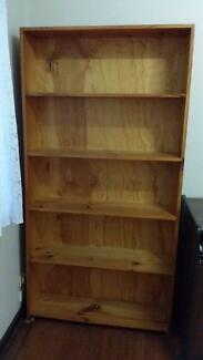 Solid Timber Bookshelf