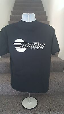 Malibu Boats Black T Shirt