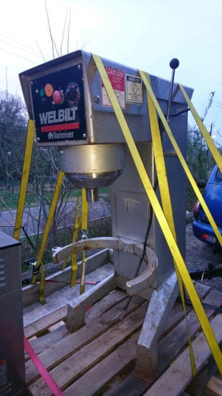 Welbilt Varimixer W40P Commercial 40 QT Planetary Mixer