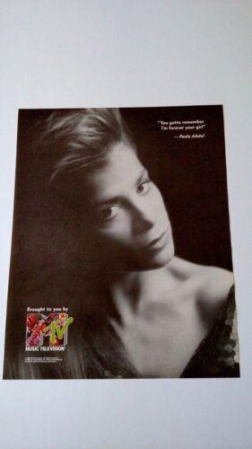 "MTV 1990 PAULA ABDUL ""I"