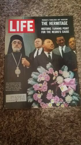 LIFE MAGAZINE MARCH 26, 1965 MARTIN LUTHER KING