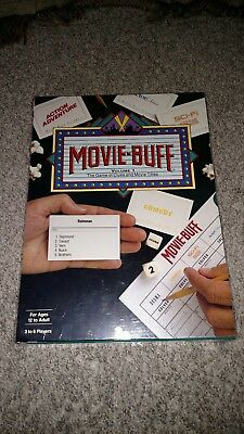 Vintage Movie Buff Game by Buff Productions. New. Sealed.