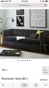 West Elm Rochester Sofa