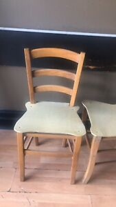 FREE! Wooden dining chairs
