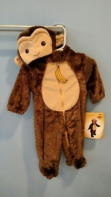NWT Spooky Night 3-6 Month Monkey Costume Halloween - 3 6 Month Halloween Costumes