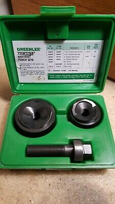 Greenlee Knockout Punch Hand Tool Set No. 737 - 737bb Set