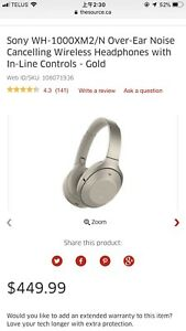 Sony xh-1000XM2 headphone sell!!