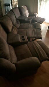 4 seater reclining theatre lounge.