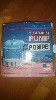 Little Giant 501086 Model 1-t Submersible Pump